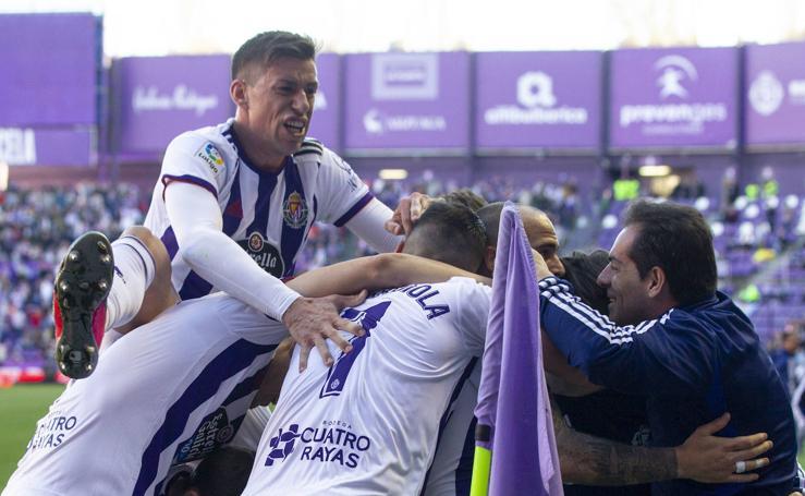 Paso de gigante del Real Valladolid hacia la salvación (2-1)