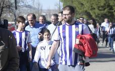 Si has ido al estadio a ver al Real Valladolid, búscate en las fotos