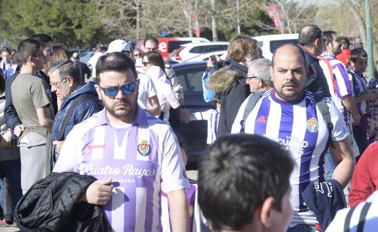 Si has ido a ver al Real Valladolid, búscate en las fotos (1/2)