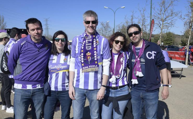 Si has ido a ver al Real Valladolid, búscate en las fotos (2/2)
