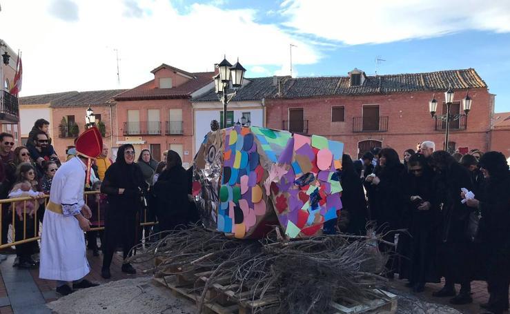 Entierro de la sardina en la provincia de Valladolid