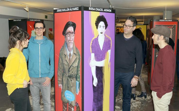 Exposición 'Exiliados Ilustrados' en la Casa Revilla de Valladolid