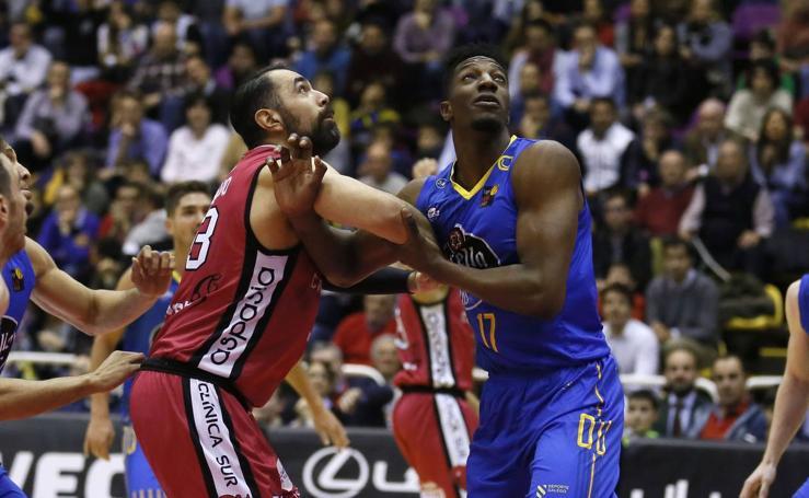 CBC Valladolid-Ourense Baloncesto en el polideportivo Pisuerga