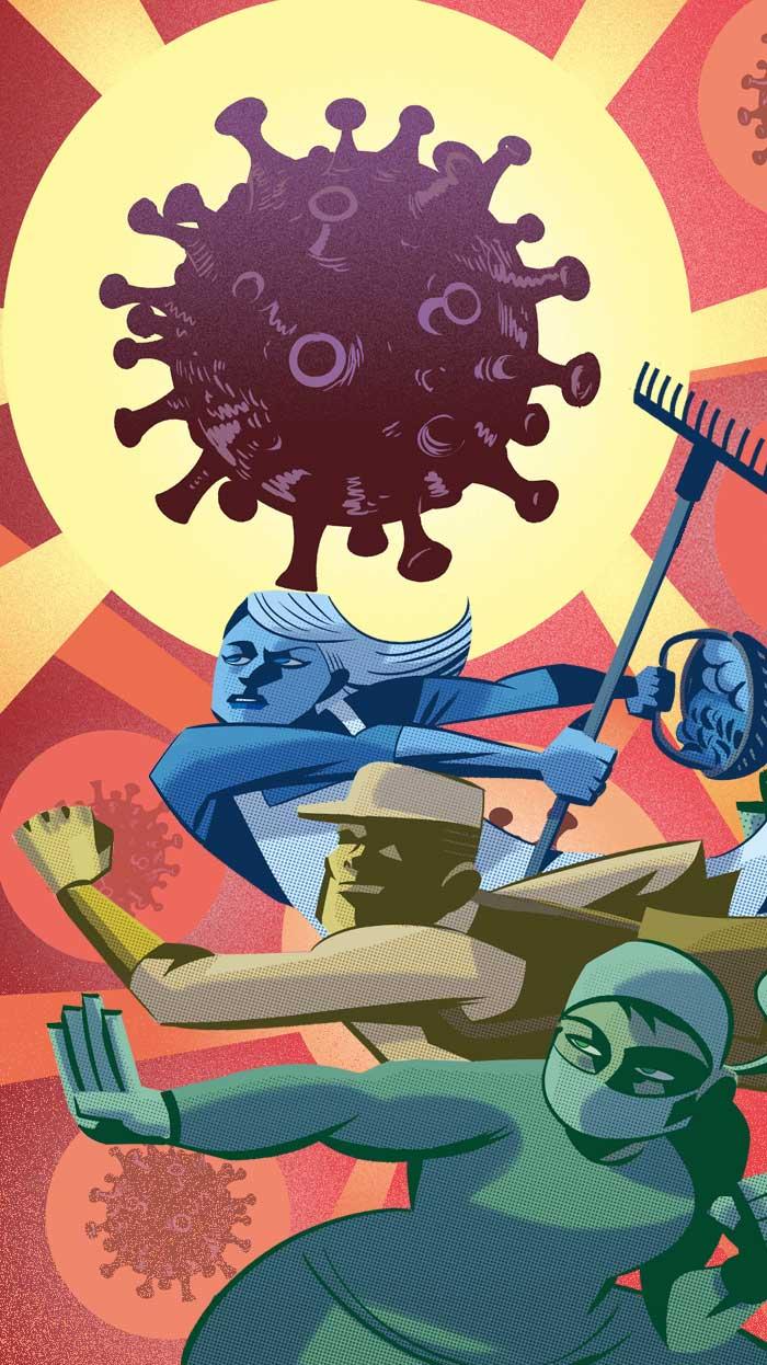 Superhéroes de la pandemia | El Norte de Castilla