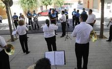 La Banda Municipal homenajea con canciones a los héroes de la pandemia