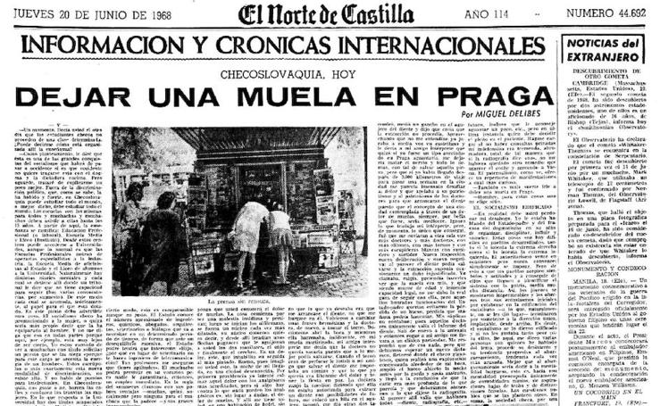 Artículos de Miguel Delibes en El Norte de Castilla