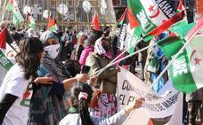 Valladolid sale a la calle en contra de la ruptura del alto el fuego en el Sahara Occidental