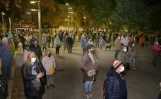 Palencia se congrega para condenar la violencia contra las mujeres