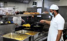 Preparativos en la hostelería segoviana para la reapertura de sus locales