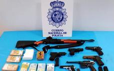 La Policía Nacional desarticula un grupo organizado dedicado al tráfico de drogas entre Oviedo y León