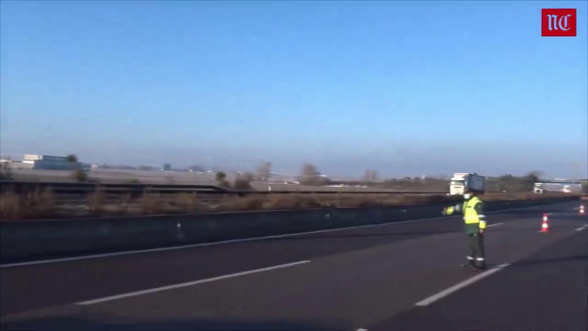 Tres camioneros fallecidos en un accidente de tráfico en Tordesillas