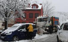 Temporal de nieve en la provincia de Segovia