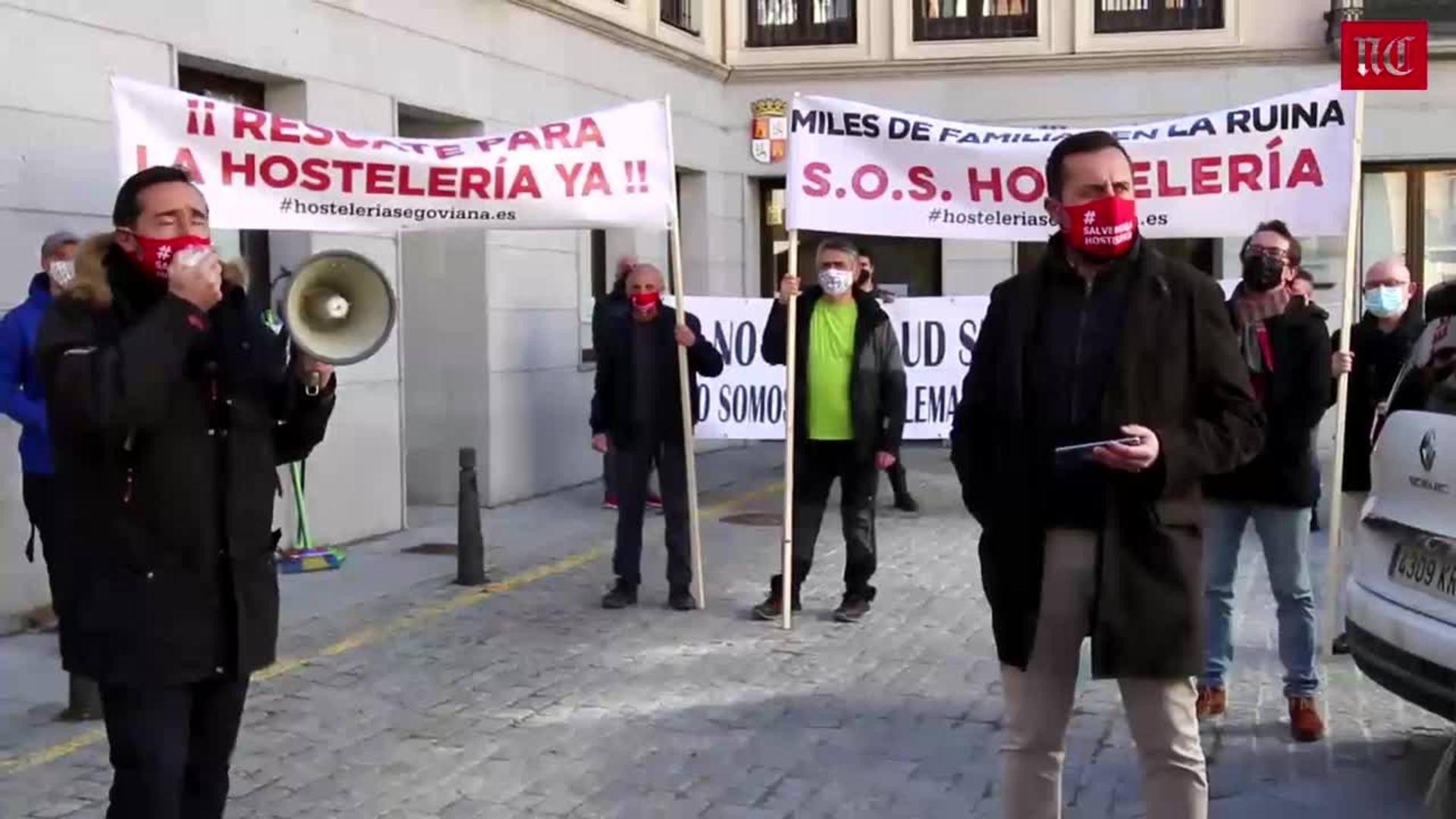 Los hosteleros piden la dimisión de Mañueco en Segovia