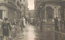 Estampas del Valladolid antiguo (LXXIV): días de lluvia