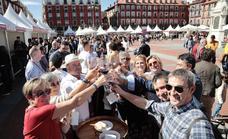 Las imágenes de la Plaza Mayor del Vino en Valladolid