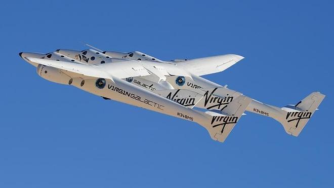 La compañía de turismo espacial Virgin ultima sus vuelos privados