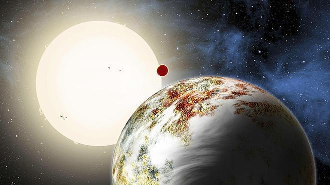 Una estrella devora a dos planetas a la vez