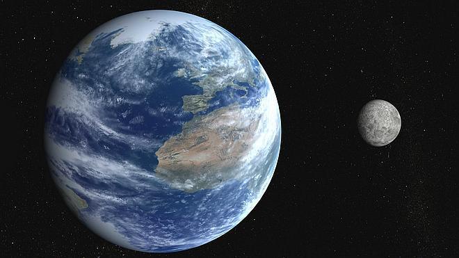 La Luna se formó por la colisión de la Tierra con un astro hace 4.500 millones de años