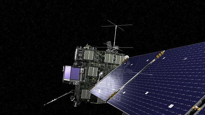 La sonda Rosetta se encuentra mañana con el cometa 67/P Churyumov-Gerasimenko