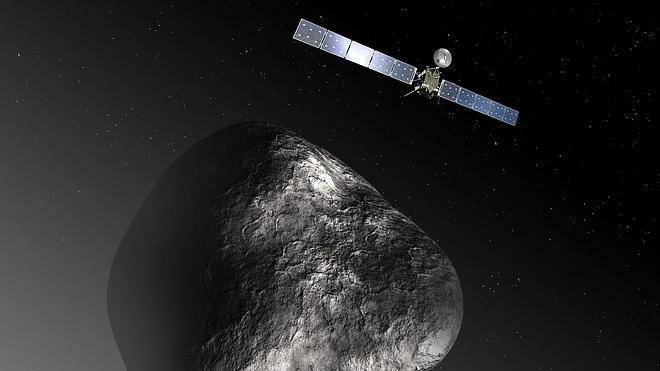 La sonda Rosetta se encuentra con su cometa