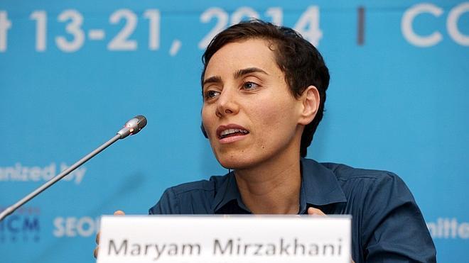 Maryam Mirzakhani, primera mujer en recibir el 'Nobel' de las matemáticas