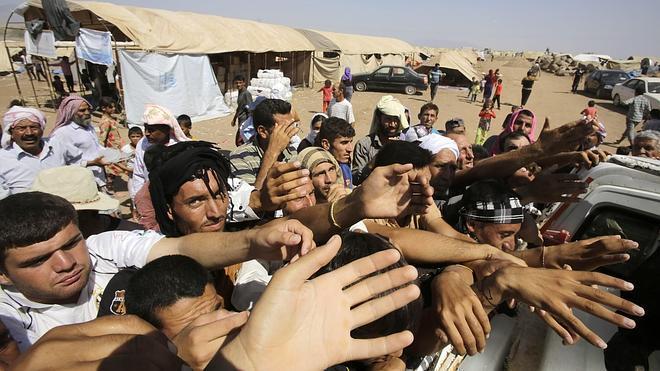 La ONU lanza una gran operación de ayuda a los desplazados iraquíes
