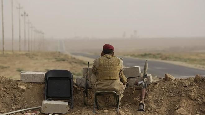 Los yihadistas blindan con explosivos la ciudad de Tikrit