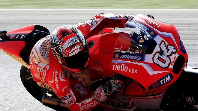 Dovizioso supera a Márquez en ensayos líbres del GP de Aragón de MotoGP
