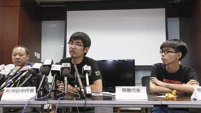 El movimiento demócrata de Hong Kong cancela la votación sobre el futuro de las protestas