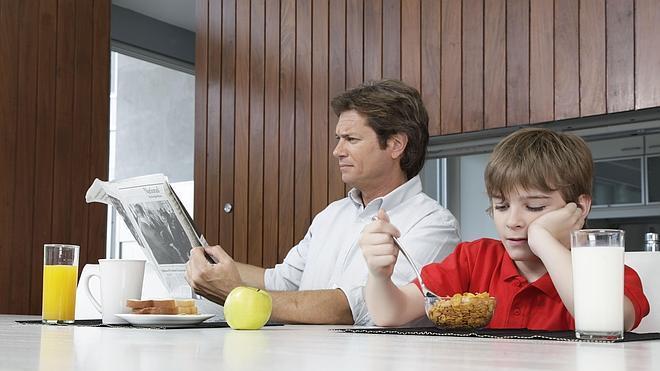 Comer con tus hijos mejora sus notas