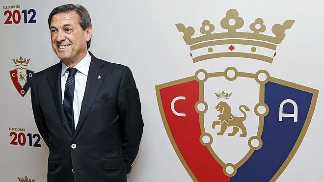 El expresidente de Osasuna, detenido por la desaparición de 3,7 millones de euros