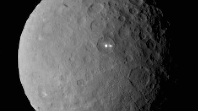 La sonda Dawn entra en la órbita del planeta enano Ceres
