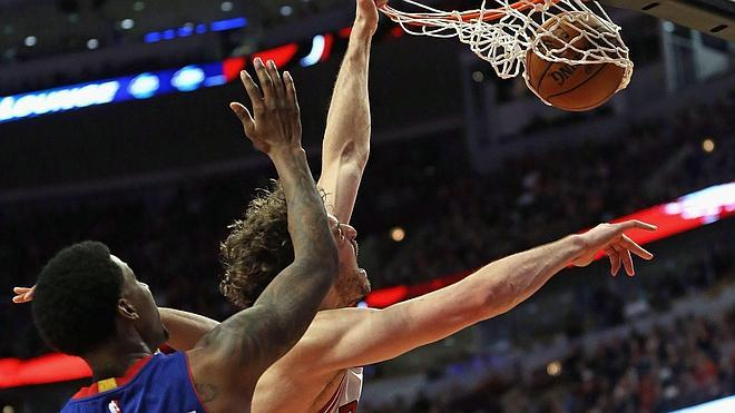 Los hermanos Gasol lideran los triunfos de los Bulls y los Grizzlies