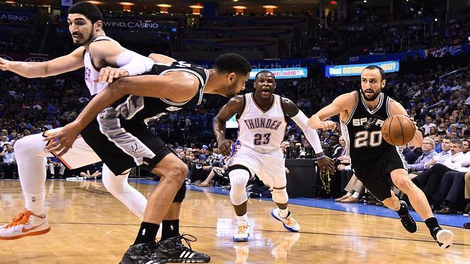 Los Spurs dejan a los Thunder fuera de 'Playoffs'