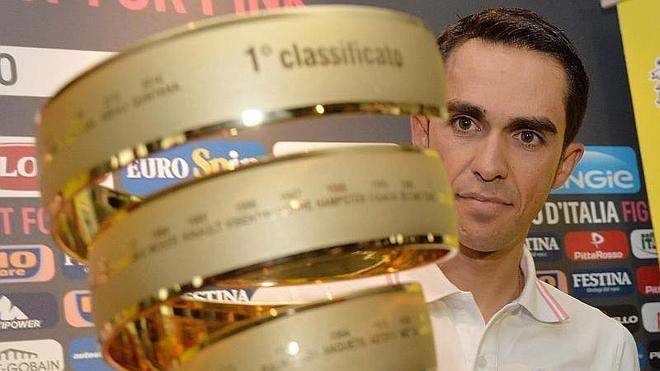Contador inicia en Italia el reto del 'doblete' Giro-Tour