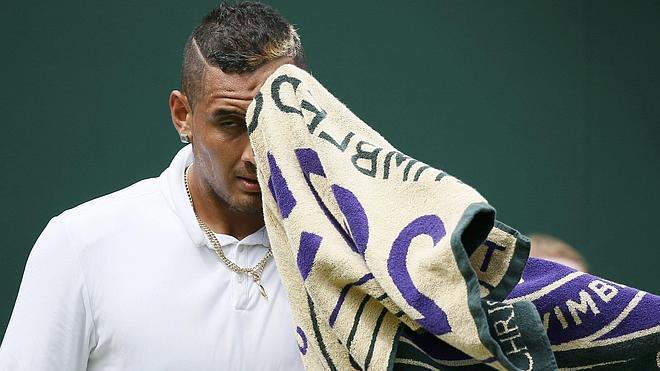 Wimbledon parece el trópico y algunos tenistas lo celebran