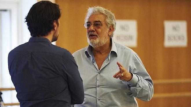 Plácido Domingo, asesor de lujo para cantantes en busca de gloria