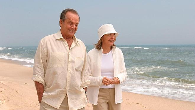Jack Nicholson y Diane Keaton enamoran a la audiencia