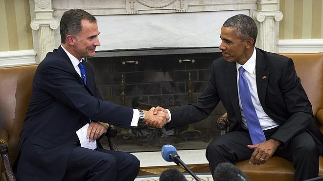 Rajoy ve «positivas» las palabras de Obama y trabajará por una España «fuerte»