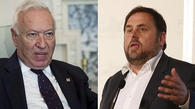 Margallo debatirá con Junqueras con la oposición del Gobierno