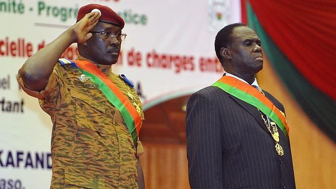 La Junta Militar accede a liberar al presidente de Burkina Faso