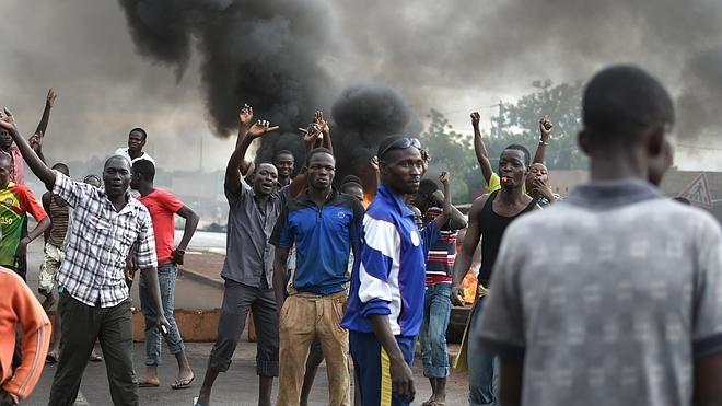 Tercer día consecutivo de protestas tras el golpe de Estado en Burkina Faso