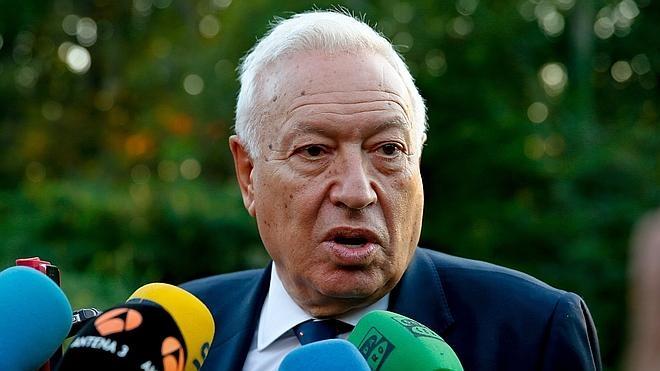 Margallo, sobre su debate con Junqueras, dice que «nunca» hace nada sin hablar con Rajoy