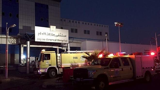 Al menos 25 muertos en un incendio en un hospital de Arabia Saudí