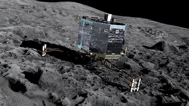 Los científicos apuran las opciones de despertar al robot 'Philae'