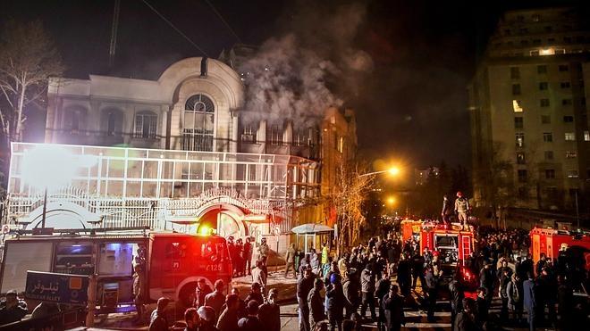 Teherán cambia el nombre de la calle donde está la Embajada saudí por el del clérigo chií ejecutado