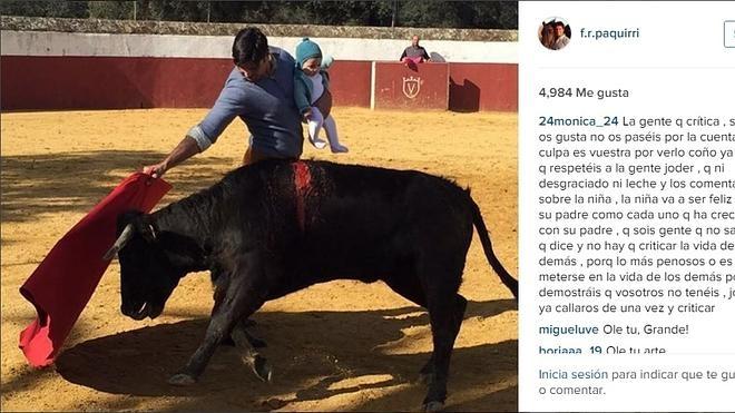 Los toreros echan un capote a Fran Rivera