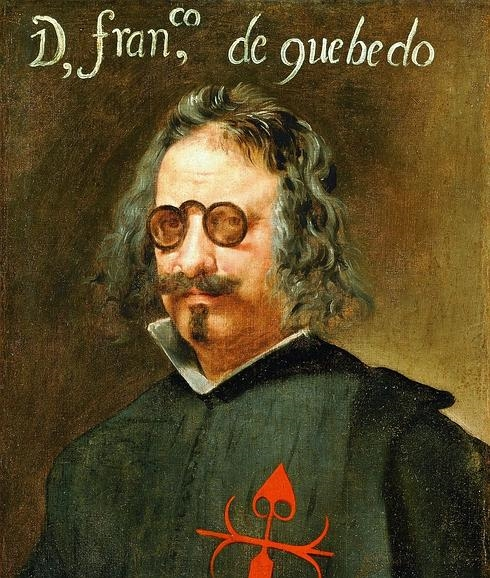 Retrato de Francisco de Quevedo./