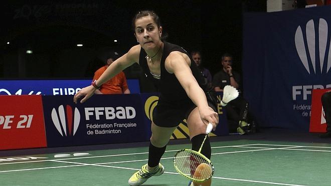 Carolina Marín luchará por su segundo oro europeo