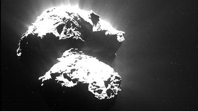 Hallan nuevos ingredientes esenciales para la vida en el cometa 67P